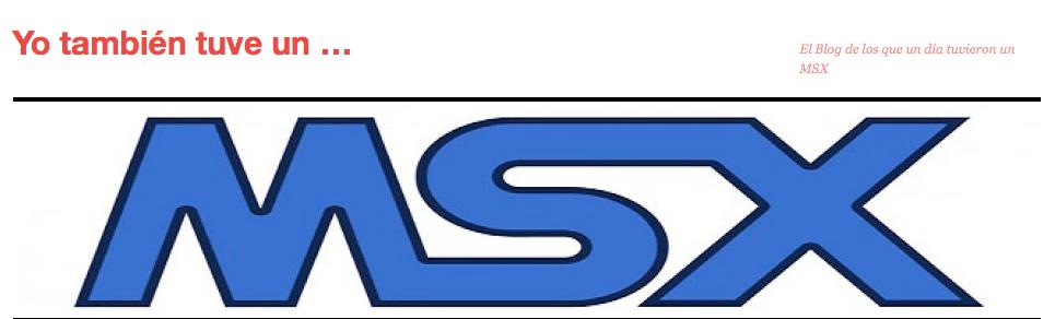 Logo de Yo también tuve un MSX