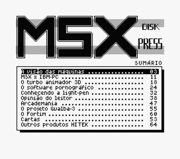 MSX Disk Press #1 (Hitek Softworks, 1991) (7)