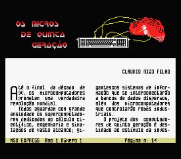 MSX Express #1 (Discovery Informatica, 1991) (8)