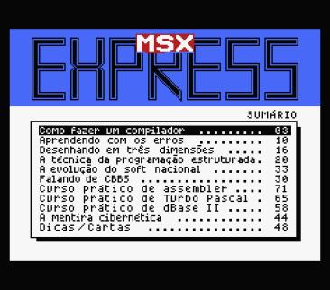 MSX Express #2 (Discovery Informatica, 1991) (3)