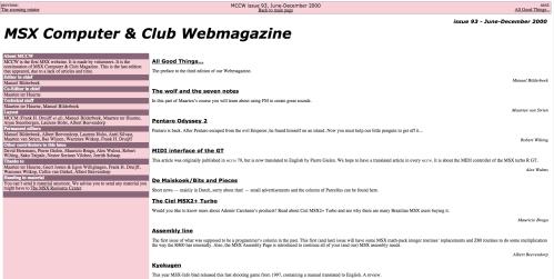 MSX Computer & Club Webmagazine #93