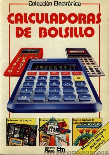 Colección Electrónica - Calculadoras de bolsillo