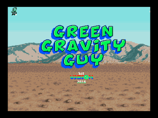 Green Gravity Guy (bit Vision, 2016)