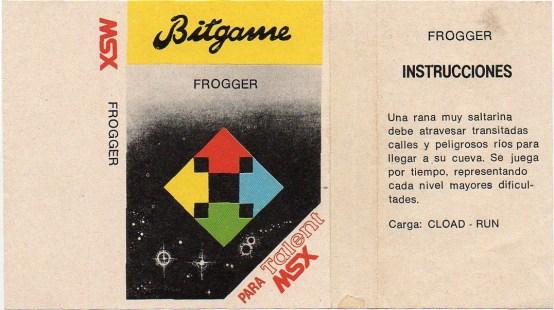 Frogger (Konami, 1983) 005