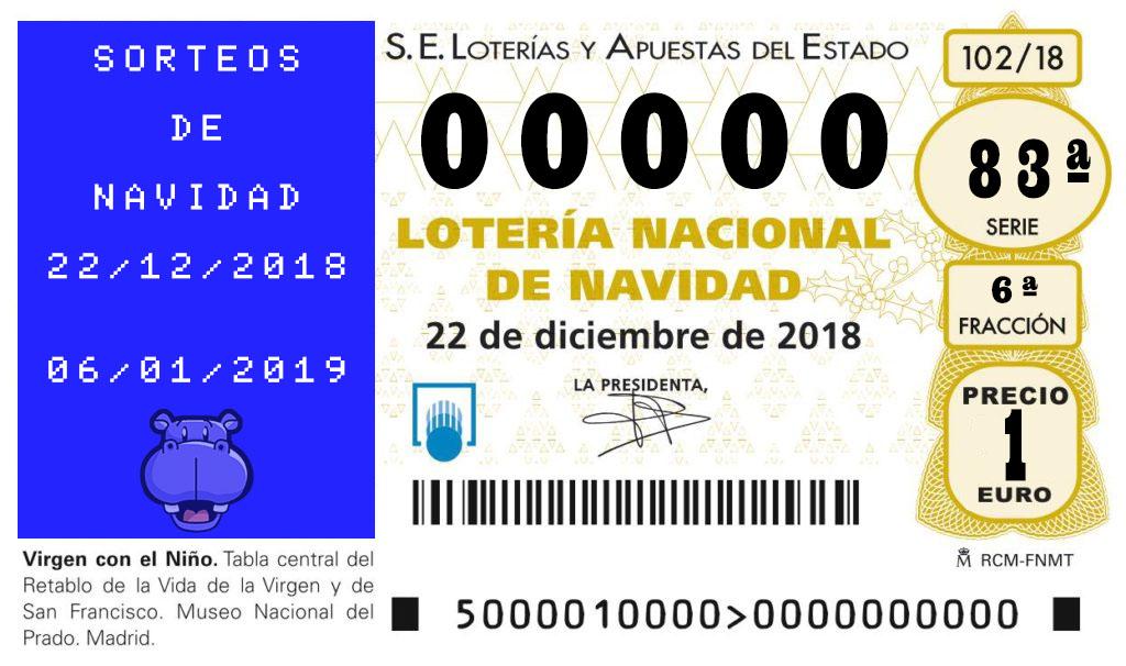 Décimo de Lotería MSXBlog