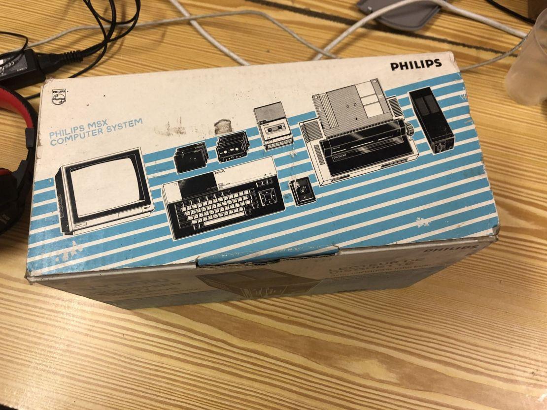 Philips VY 0010 - Vista cenital de la caja