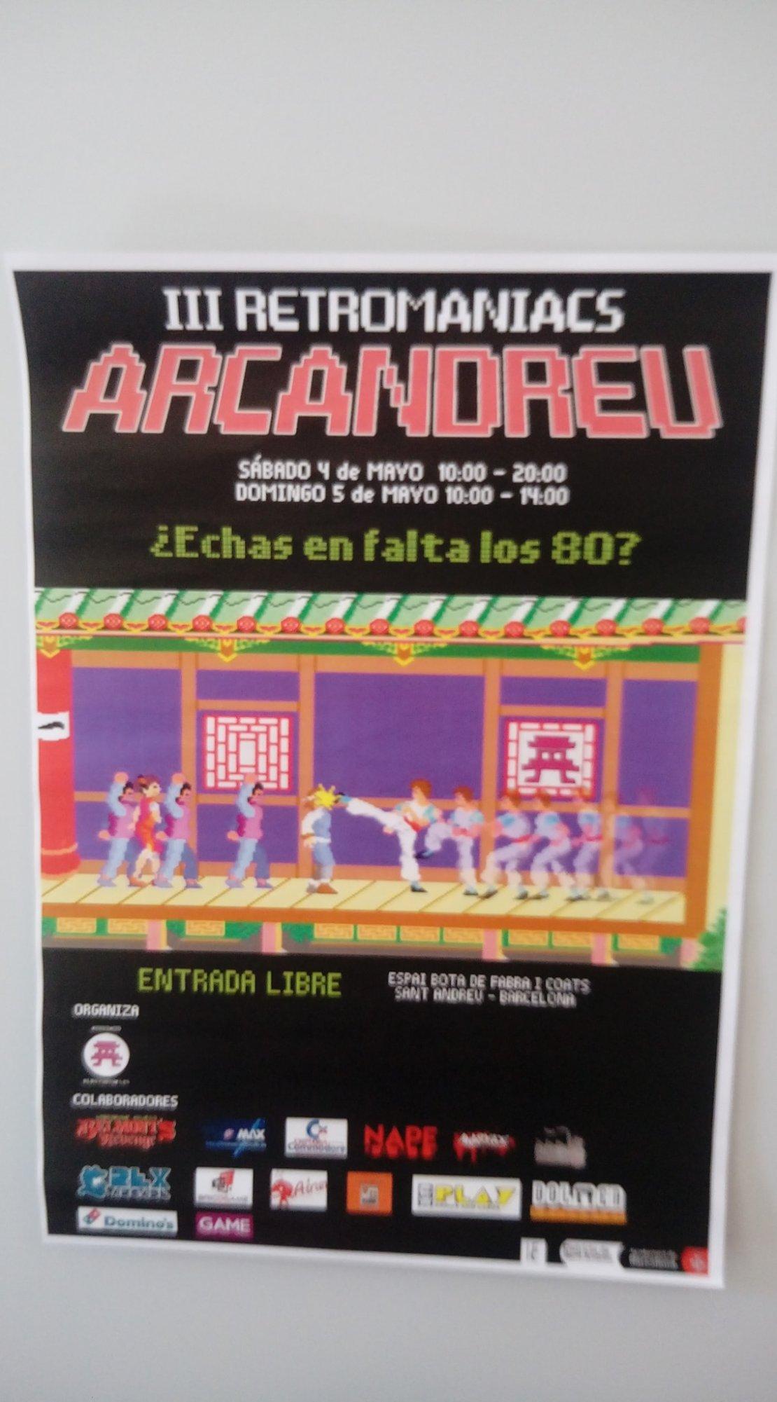 Poster de III Retromaniacs Arcandreu