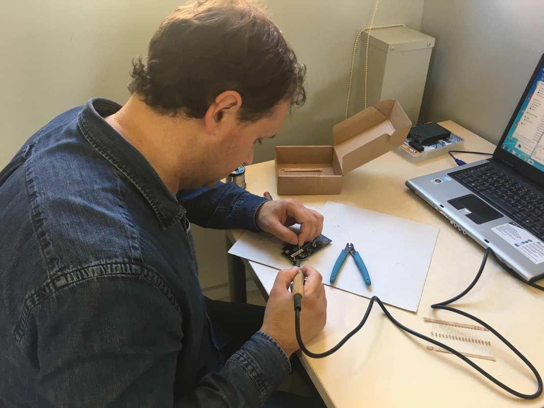 Antonio trabajando en una FlashJacks