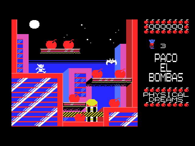Paco El Bombas - Pantalla de juego