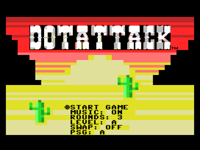 Dot Attack - Pantalla de título