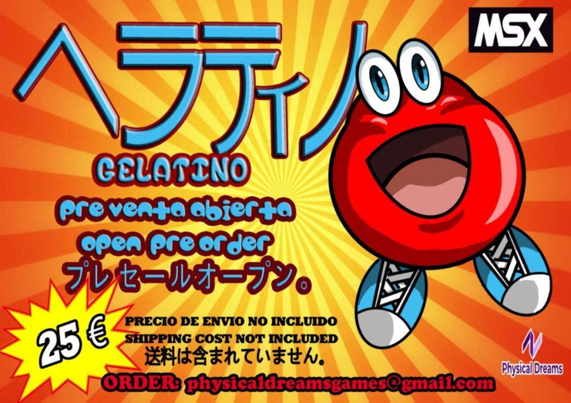 Cartel promocional de Gelatino