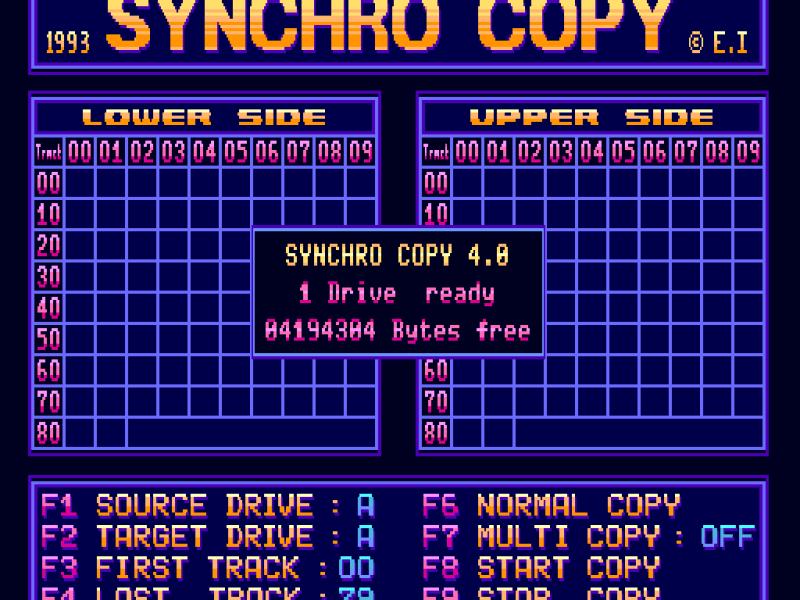 Synchro Copy