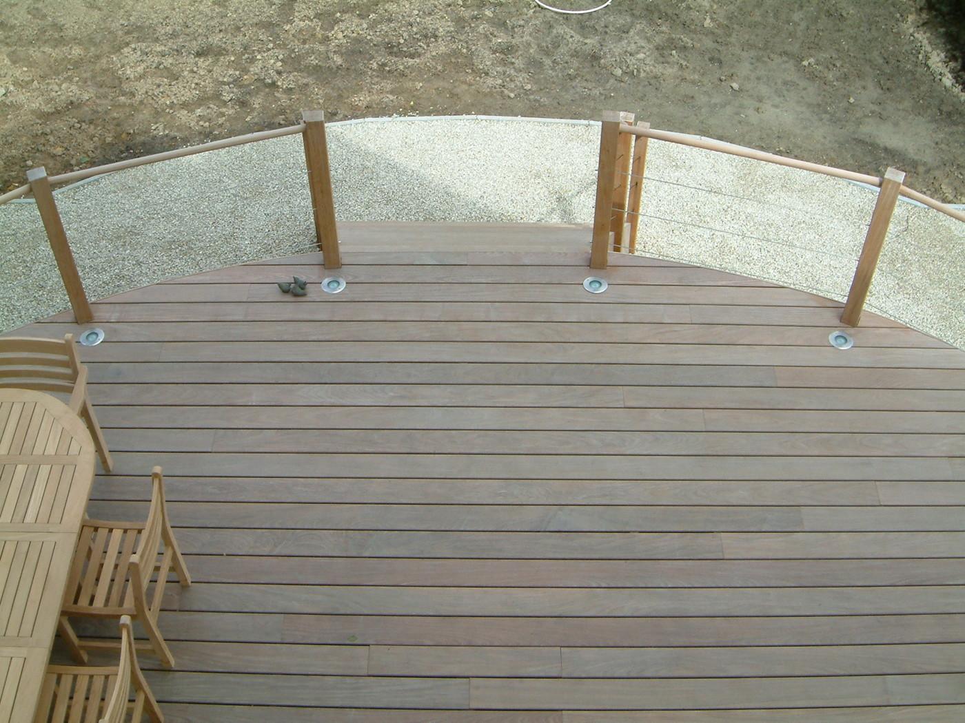 terrasses en bois arrondies mt design