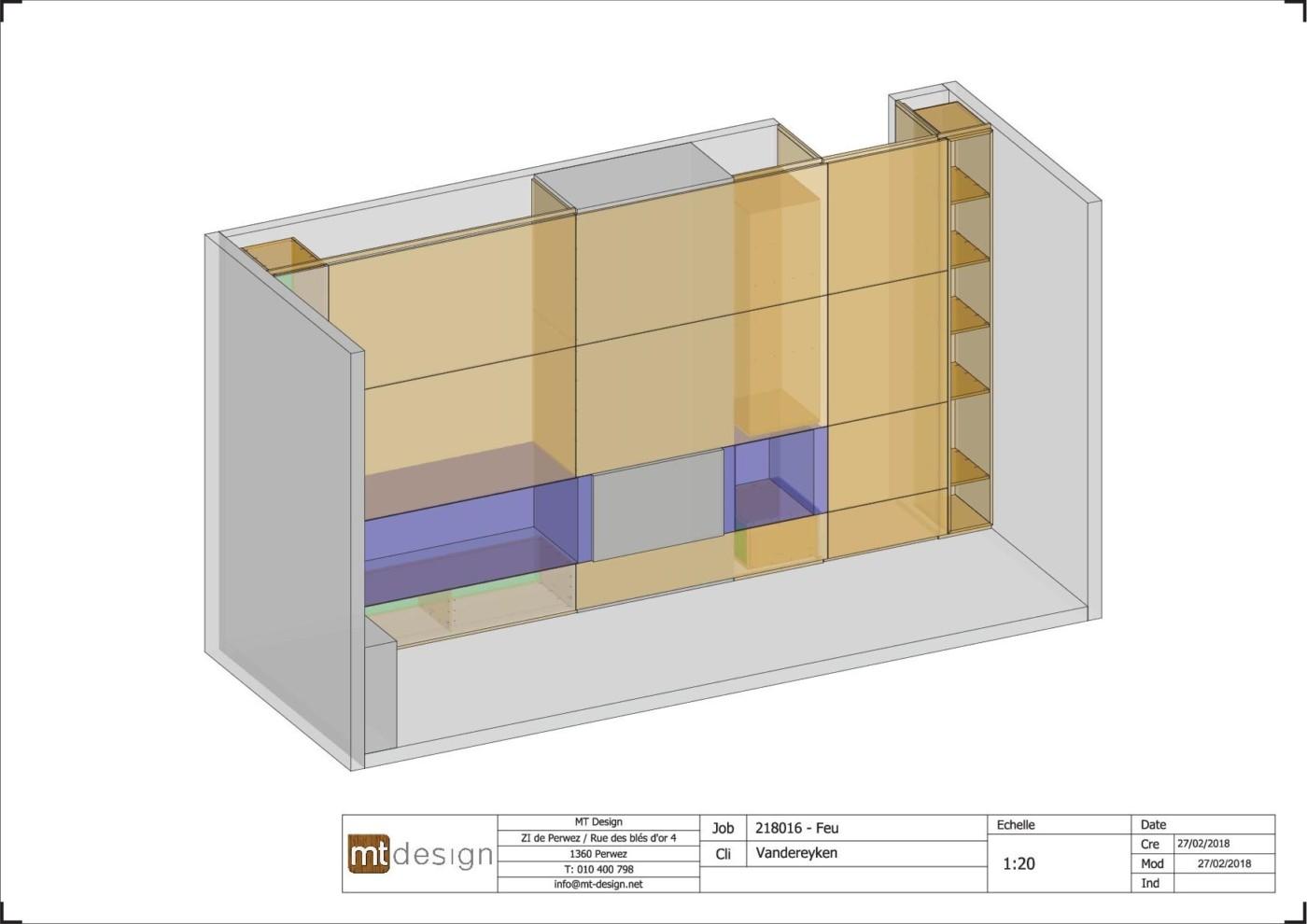 plan pour meuble tv avec television