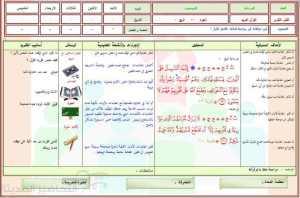 قران كريم تحفيظ ثاني ثانوي - وسائل