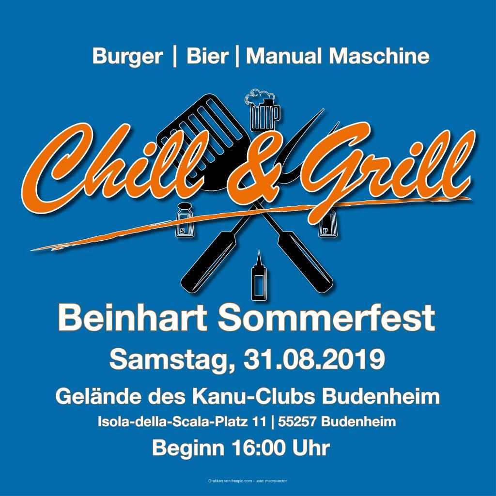Beinhart Chill & GrillAugust 2019