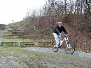 Landschaftspark Nord für Mountainbiker