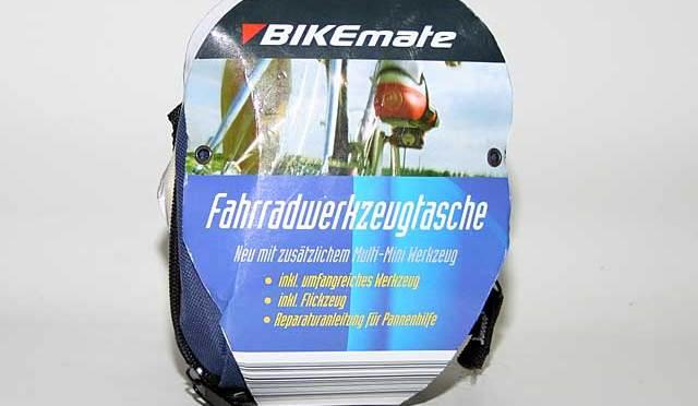 Bikemate – Aldi Fahrradwerkzeugtasche im Schnell-Check