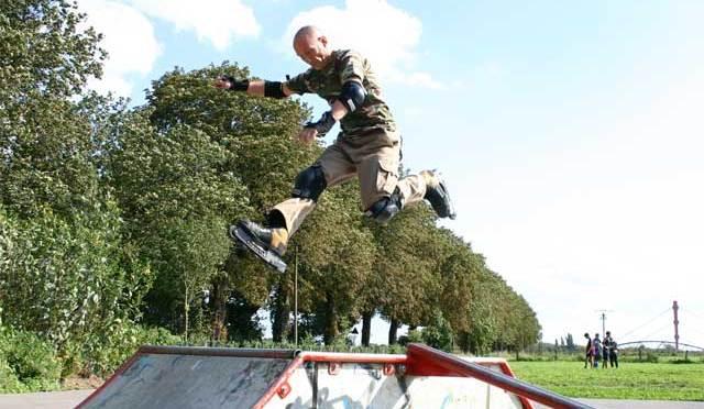 Inline-Skating, oder: Wie der Adler fliegt