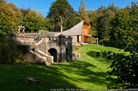 The Yan, art gallery, at Grizedale