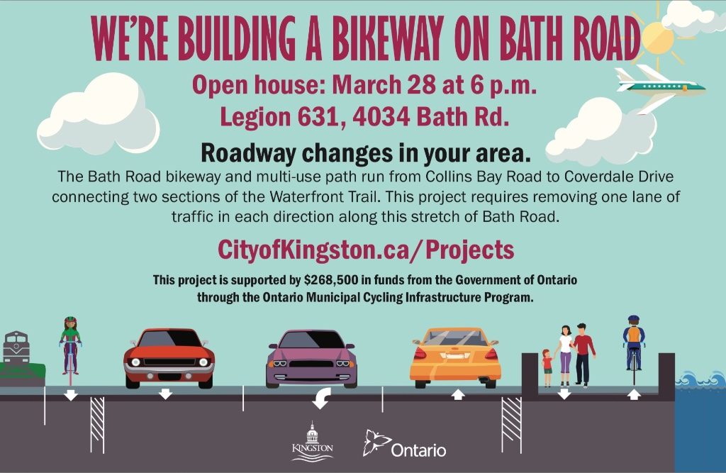 Kingston Coalition for Active Transportation Newsletter  –  Spring 2017