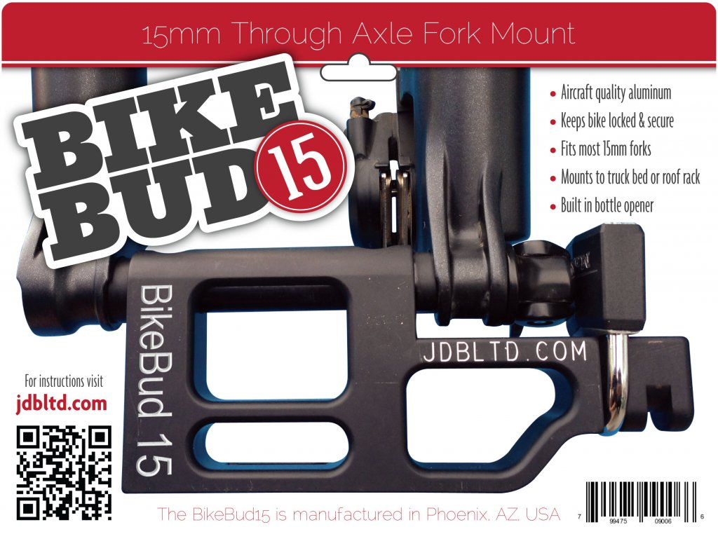 15mm axle mount that locks with beer