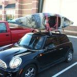 Mini Cooper Roof Or Hitch Rack Mountain Bike Reviews Forum