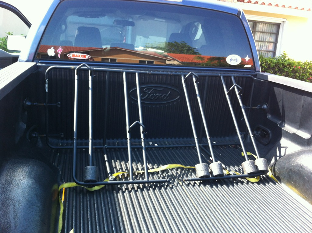 truck bed carriers mountain bike