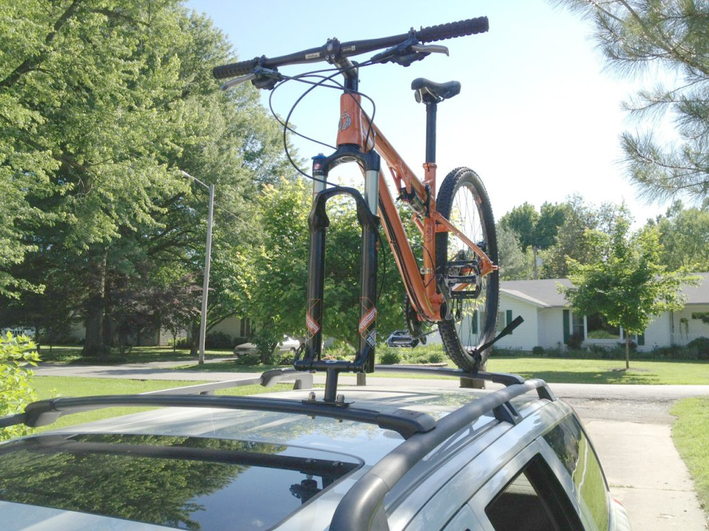 cheapest diy bike mount for your car