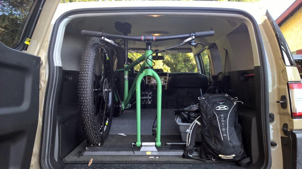 looking for car interior bike rack