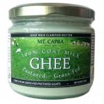 100% Grass-Fed Pastured Goat Milk Ghee Clarified butter