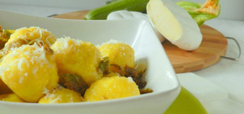 111.Gnocchi ripieni di zucchine e tomino di Camilla