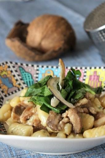 121.gnocchi di patate con brasato all'acqua di cocco di Annalena