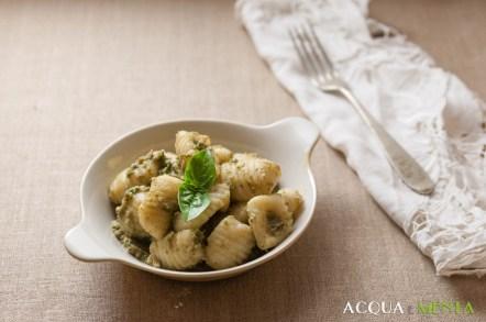 130.Gnocchi con pesto di zucchine di Dani e Juri