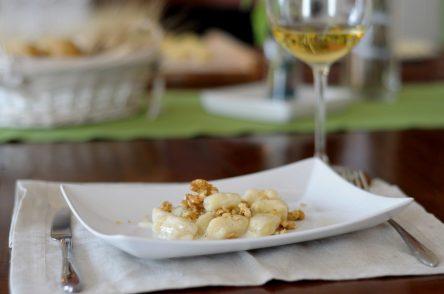 142. Gnocchi di patate con noci e gorgonzola di Cecilia