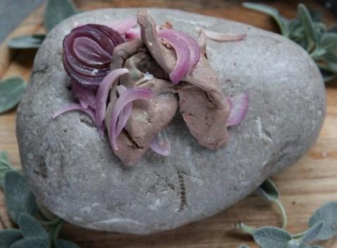 12.Fegato e cipolle on the rocks di Cristiana