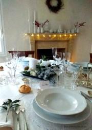 """13.La tavola di Natale di Daniela. """"White Christmas"""""""