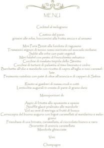 Il menu di Katia