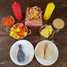 73.Pollo fritto con salsa ai peperoni di Aylin