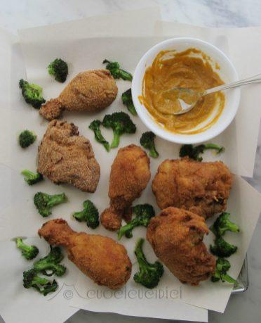 11.Pollo fritto con salsa ai peperoni arrostiti e nocciole di Flavia