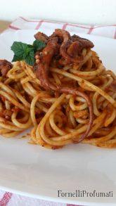 83. Spaghetti biz-zalza tal-qarnit con sugo di polpo di Therese