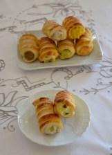 19. Cristina G, Cannoncini con apple curd e con crema di semolino