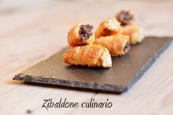 8. Elena B, Cannoncini mignon con crema pasticcera ai marroni e alla mela e cannella