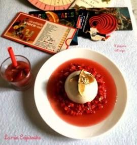32. Mousse al lime su guazzetto di fragole e vodka di Leila