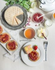 37. Afternoon Tea: Battemberg & Welsh Cakes di Anna