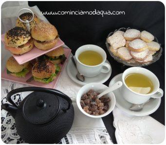7. Afternoon tea o tè del pomeriggio, a modo mio di Elena A