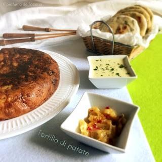 11. tortilla de patatas bronceada di Leila