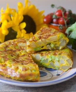 20. tortilla patatas edamame in stile asiatico di Marica