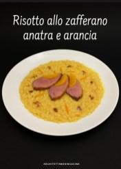 43. risotto allo zafferano, anatra e arancia di Sabrina