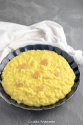46. risotto allo zafferano, mango e mostarda cremonese di Claudia